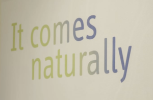 "Video ""It comes naturally"""